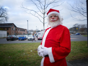 Weihnachtsmann in Freital