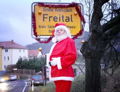 Der Weihnachtsmann ist Freitaler :-)