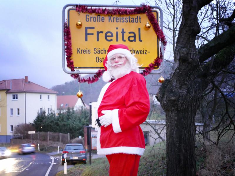 Freitaler Weihnachtsmann