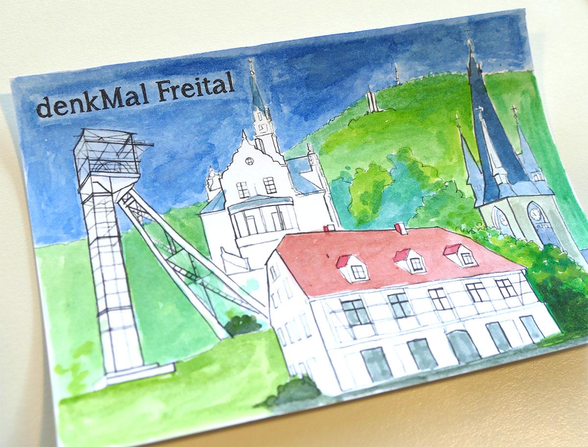 Ausmalkarte Freital
